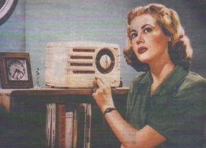 VintageListeningToRadio