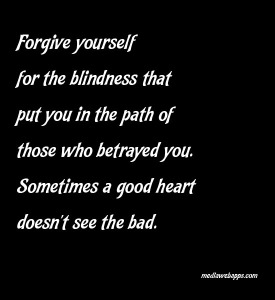ForgiveYourselfForBetrayal